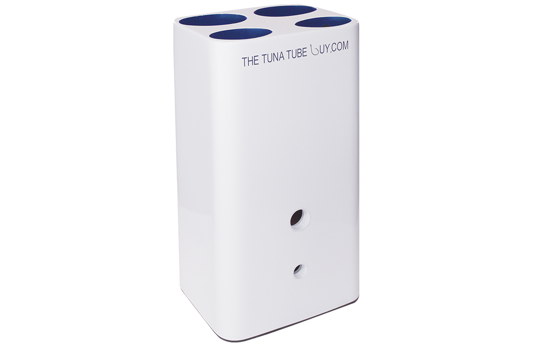 Med & Lg rectangular case of tubes